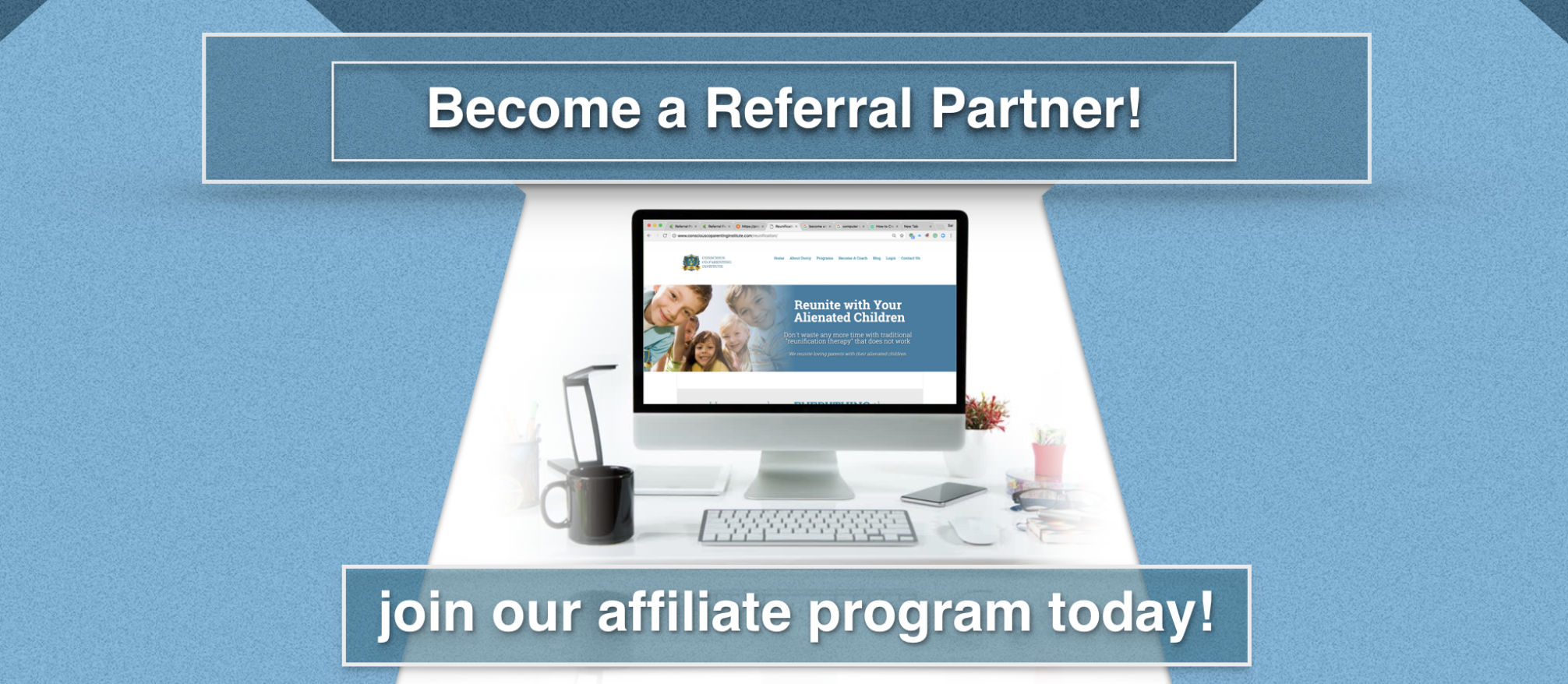 Become A Referral Partner - Conscious Co-Parenting Institute